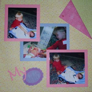 scrapbooking your baby