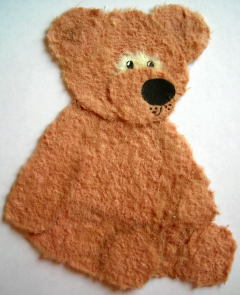 tear teddy bear